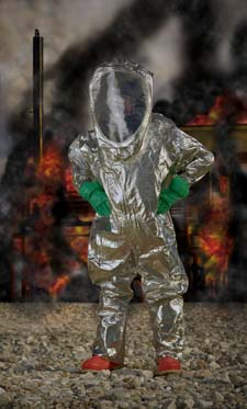 Level A Hazmat Suit